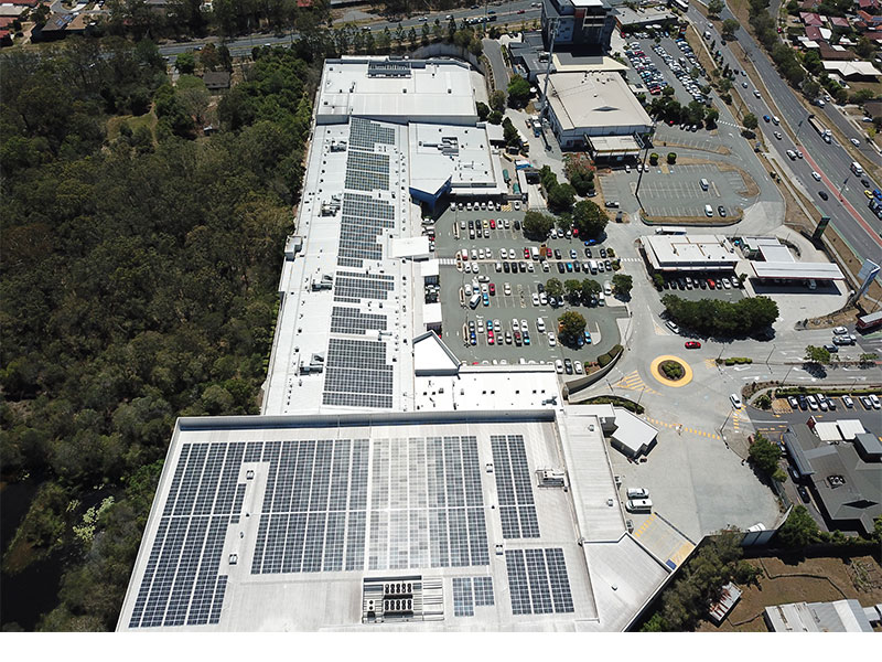 Calamvale Central Shopping Centre  Solar System Case Study
