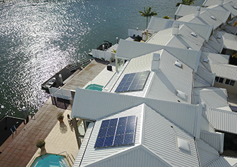 Installing a Solar System can offset the The High Price of Being at Home